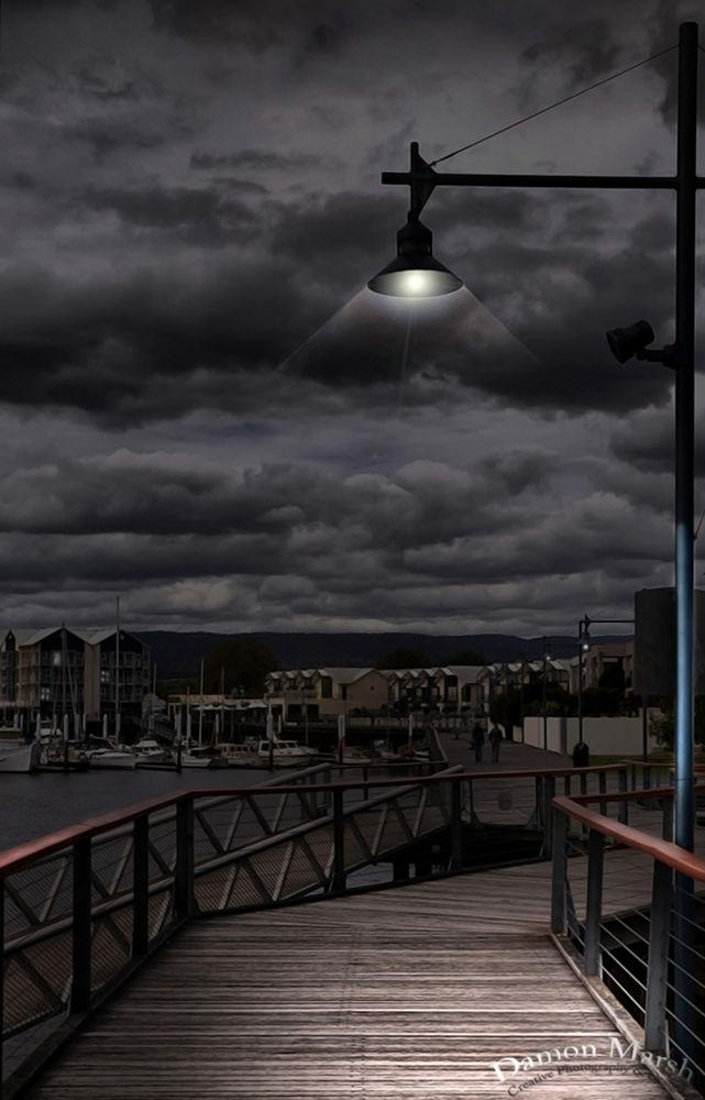 Sea Port ( Post Editing ) by damonmarsh