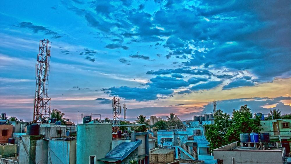 A view from the roof by Subhadeep Das