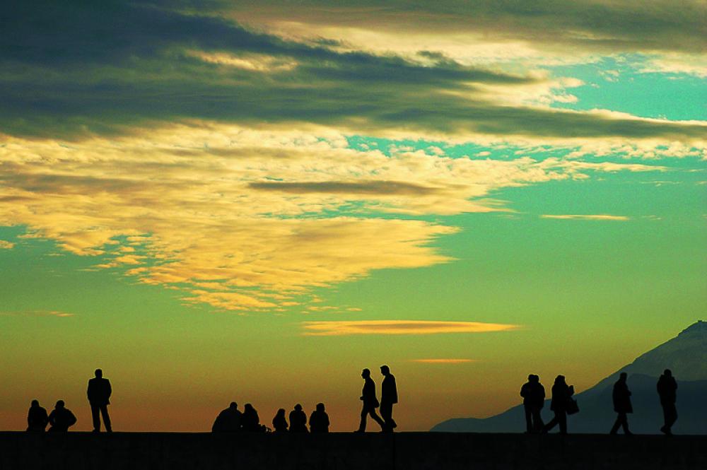 gün batımı yürüyüş by ahmet07