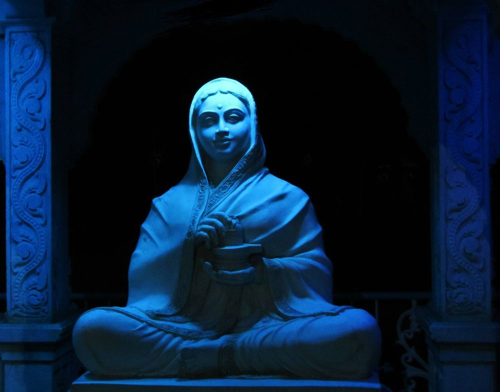 Statue of Devi by Vivek Tavate