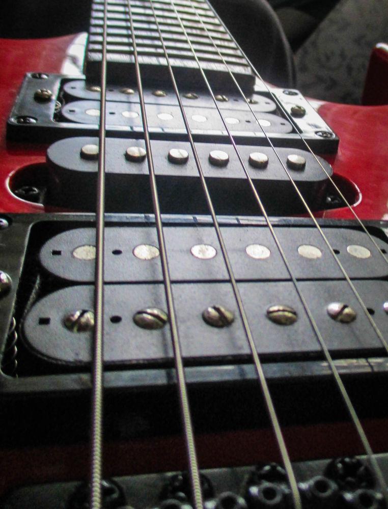 Guitar-3 by Tessa Russell