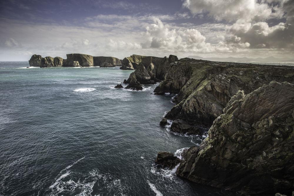 tory island cliffs by Owen Clarke