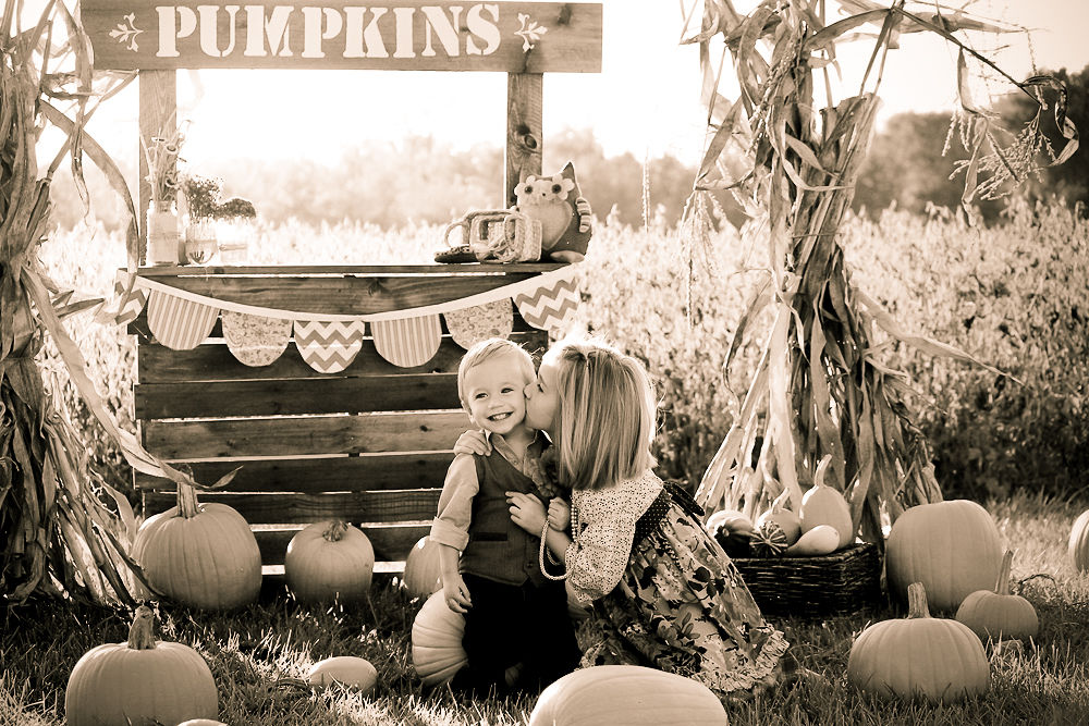 Pumpkin Stand by Tessa Turnipseed
