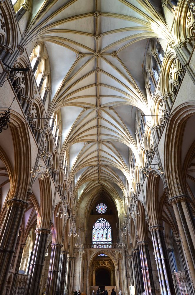 Lincoln Cathedral 3 by Pamela Harridine