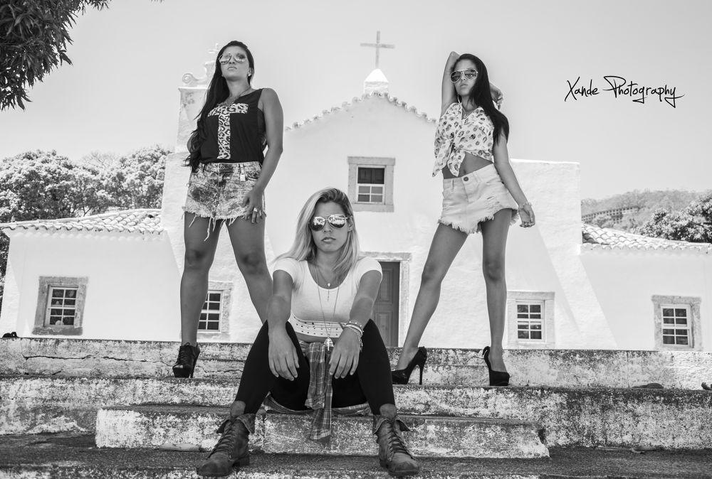 Aline Catherine, Caroline Diogo e Lorrana Morse. by Xande Lopes