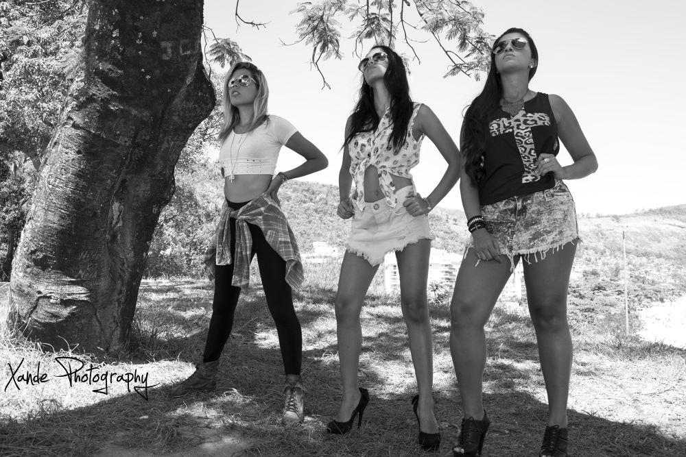 Aline Catherine, Lorrana Morse e Caroline Diogo. by Xande Lopes