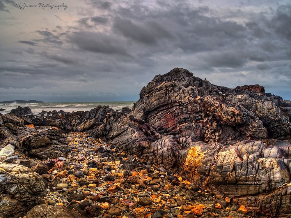 Ancient Rocks by James Ng