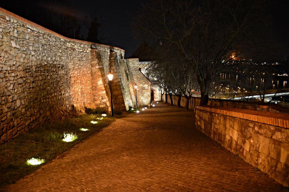 Bratislava castle view to gate by Jozef Kozlok