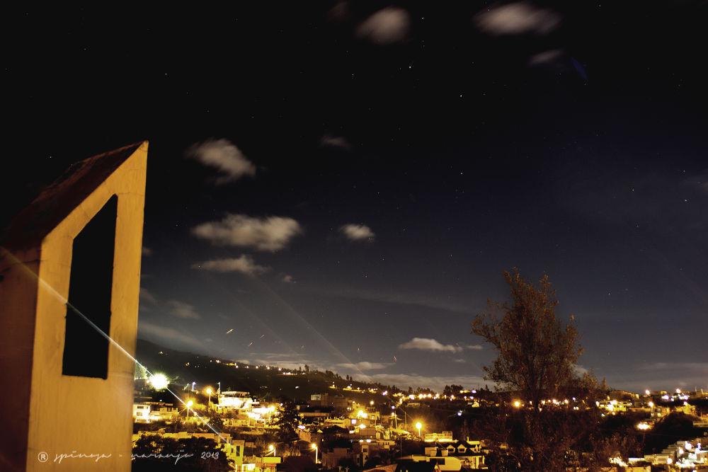 Paisaje Nocturno by joseluisespinosanaranjo