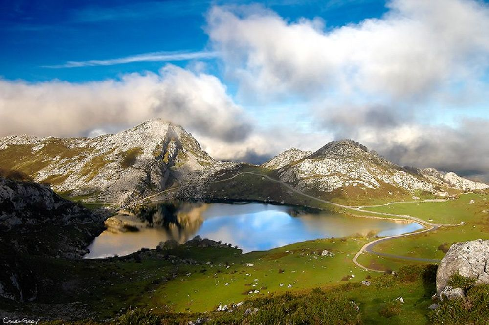 Picos of Europa Lake by Erwan Grey