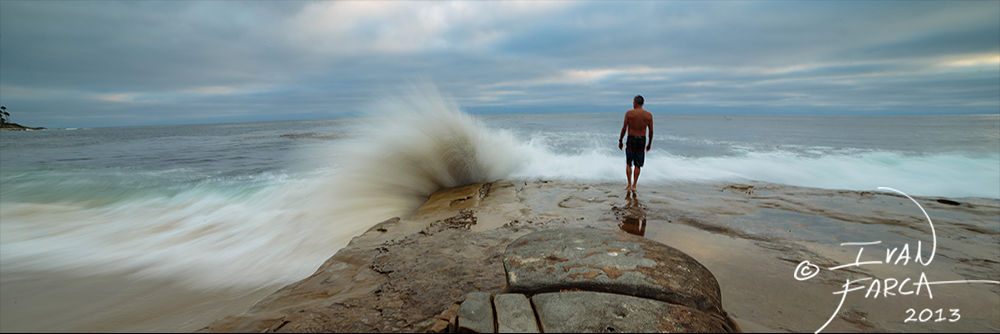 Crash Diver by Ivan Farca