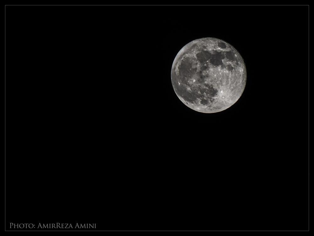 Moon by AmirReza Amini
