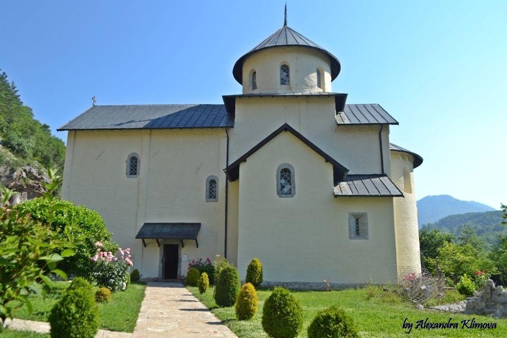 Morača Monastery by KlimovaAlexandra