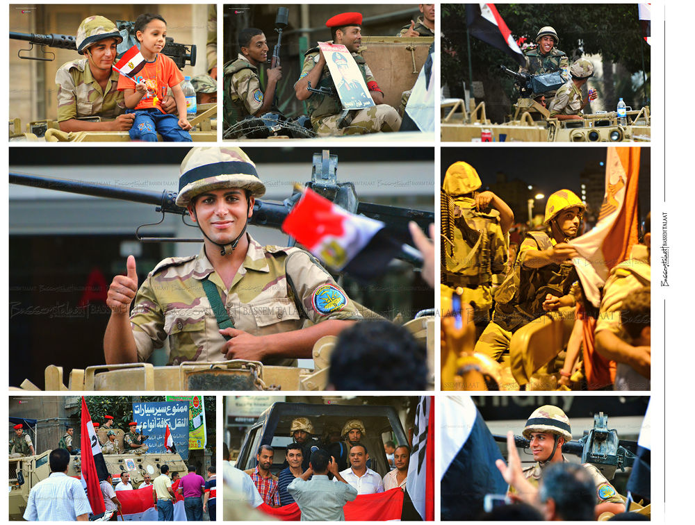 Egyptian Army Photos 30/6/2013 by Bassem Talaat