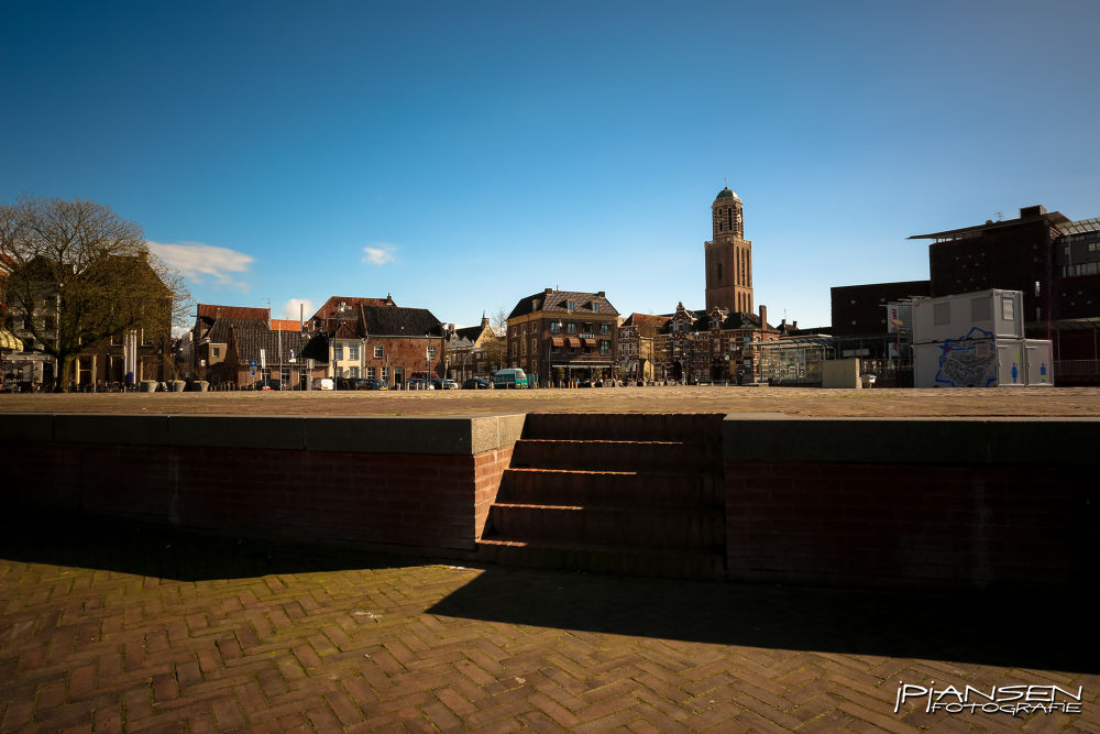Rodetorenplein - Zwolle by Jan Peter Jansen
