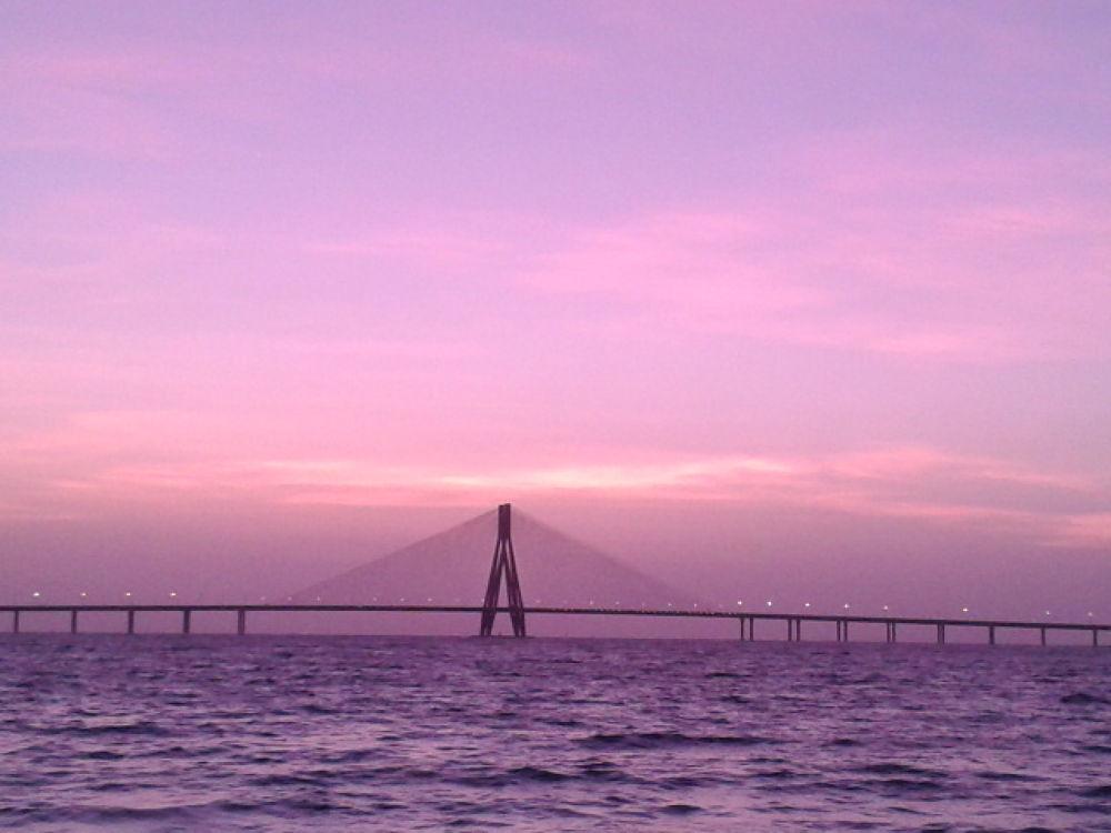Bandra-Worli Sea Link by DevRane