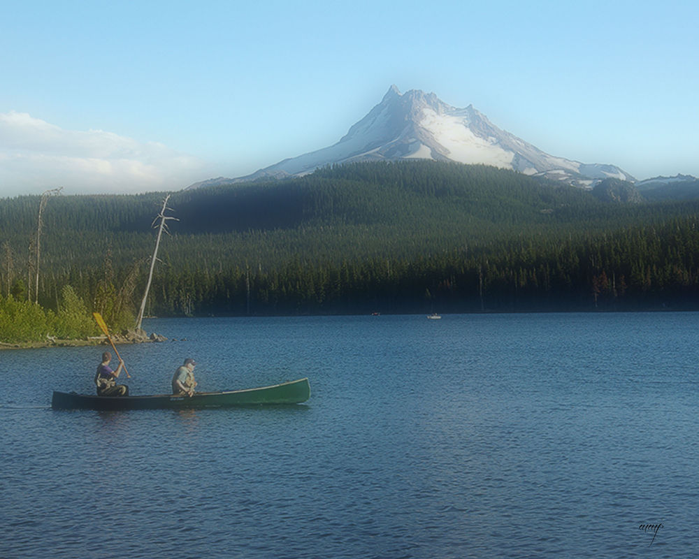 Fishing Olallie by Marilyn Mock Peterson