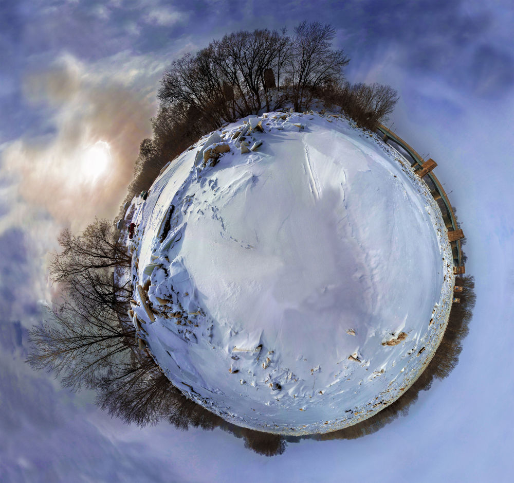 Snow Planet by KC Becker Photography