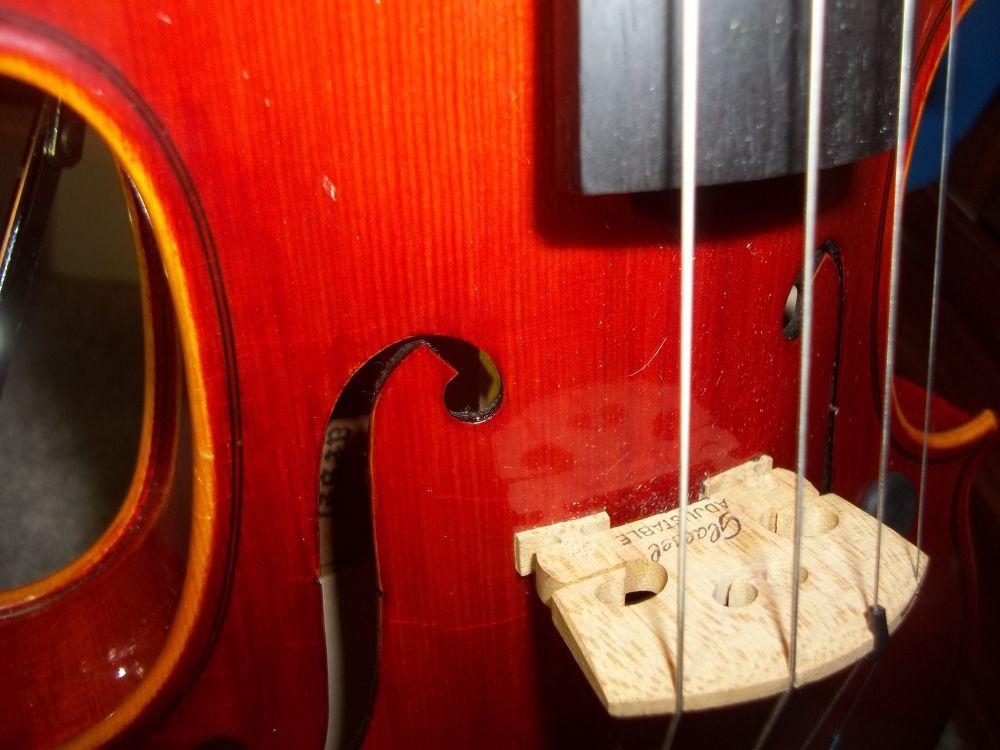 Violin Base by Matthew Lee
