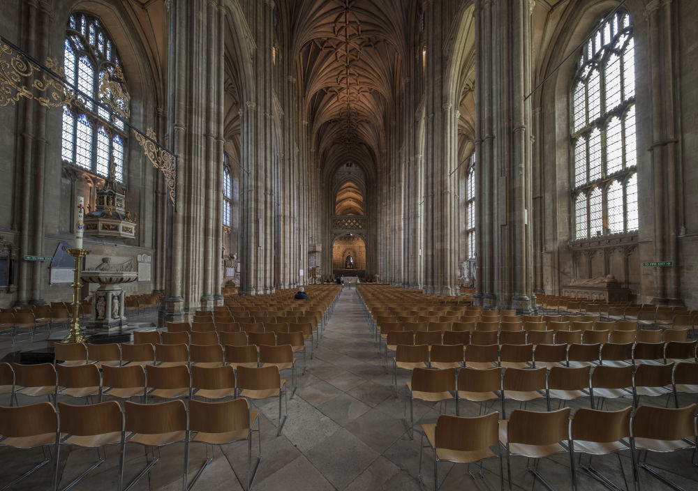 Canterbury Cathedral nave by Patrick Clarke