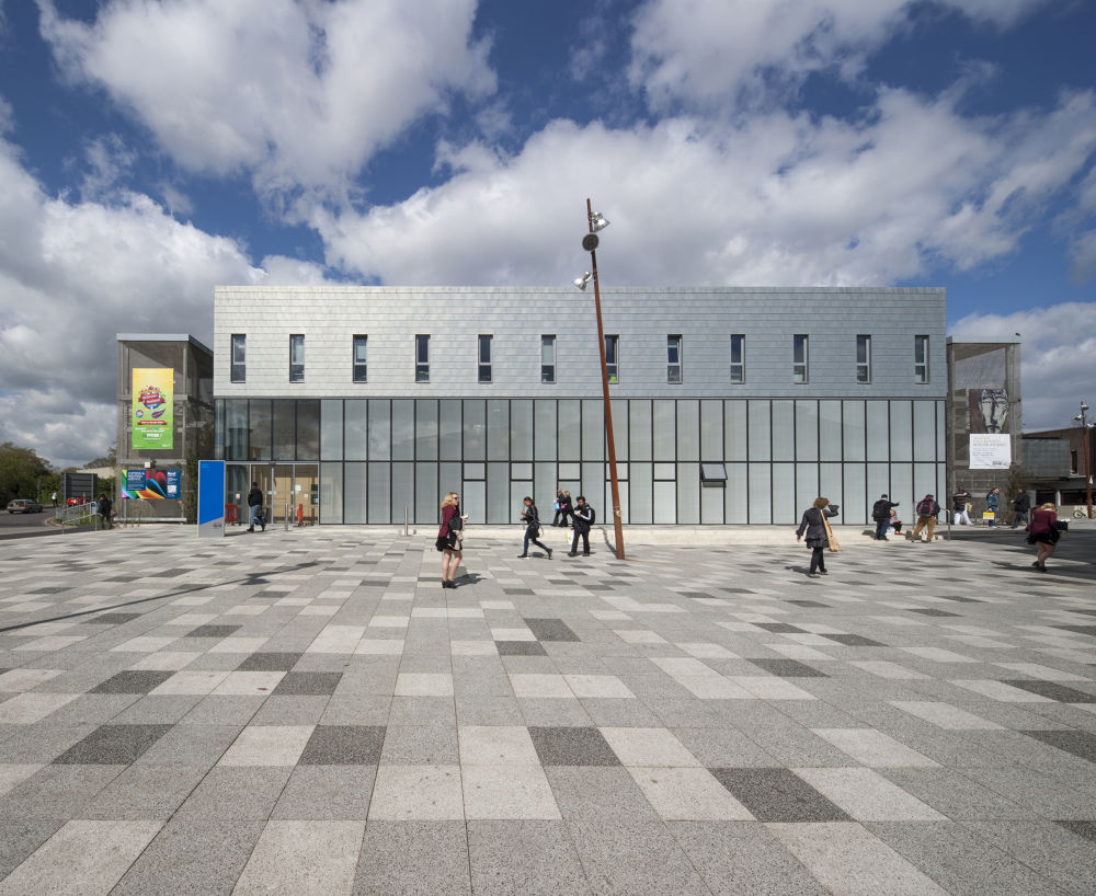 University of Kent Jarman Building School of Arts by Patrick Clarke