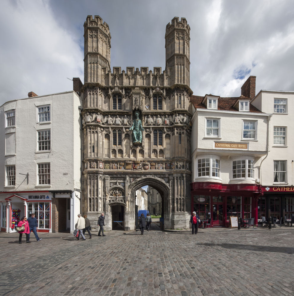 Cathedral Gate Canterbury by Patrick Clarke