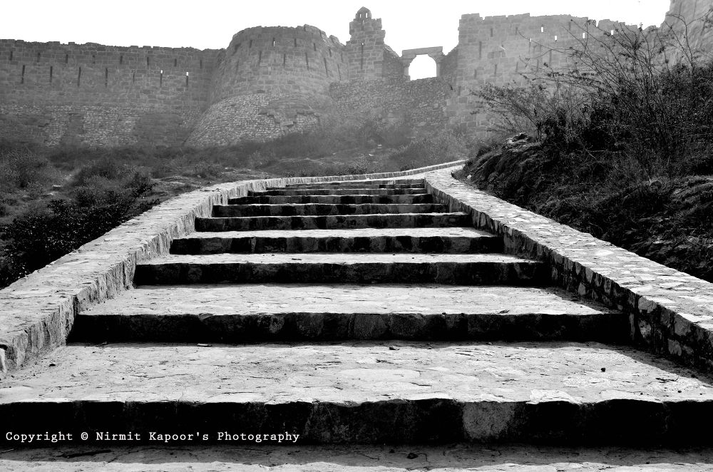 Adilabad Fort with Leading the Lines by Nirmit Kapoor