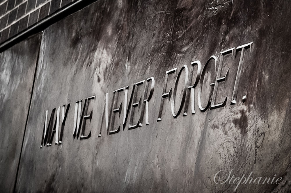 May we Never forget by stephaniephotography