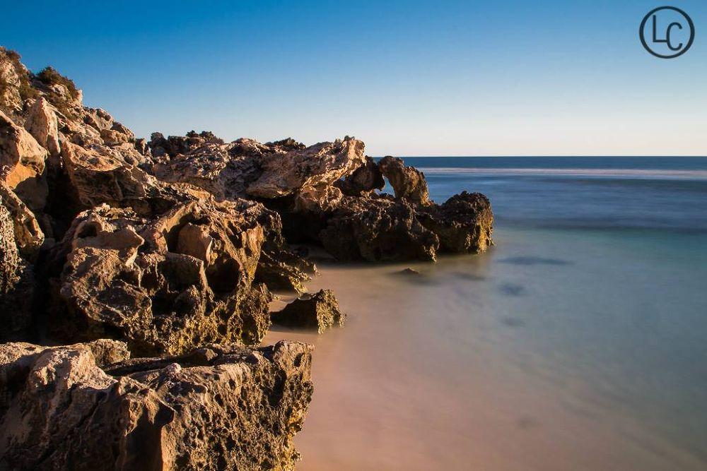 Lagoon beach by Liam Cockman