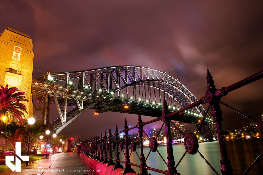 Sydney Harbour Bridge by LukeDavidsPhotography
