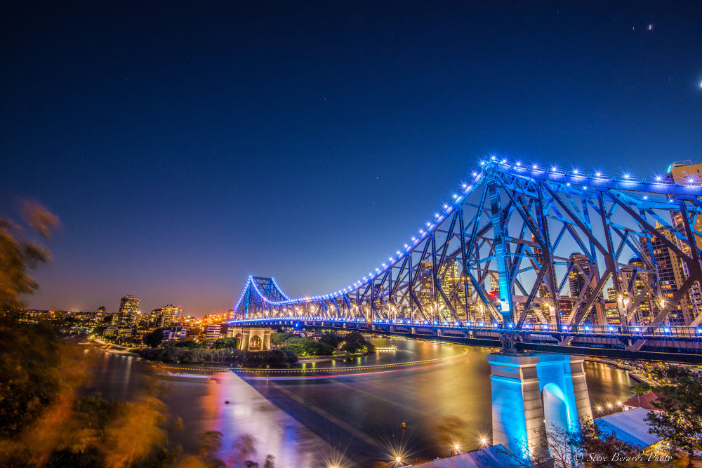 Story Bridge Brisbane, Qld, Australia by steveo074