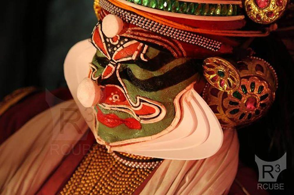 kerala kadhakali 2014 by Rajesh RCUBE