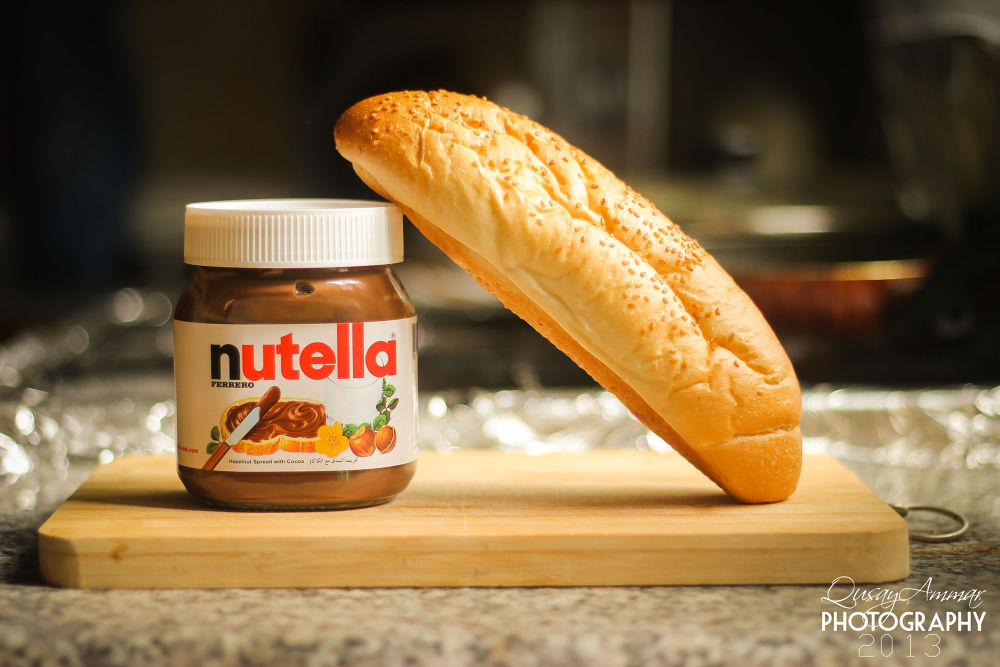 nutella <3 by Qusay Abubaker