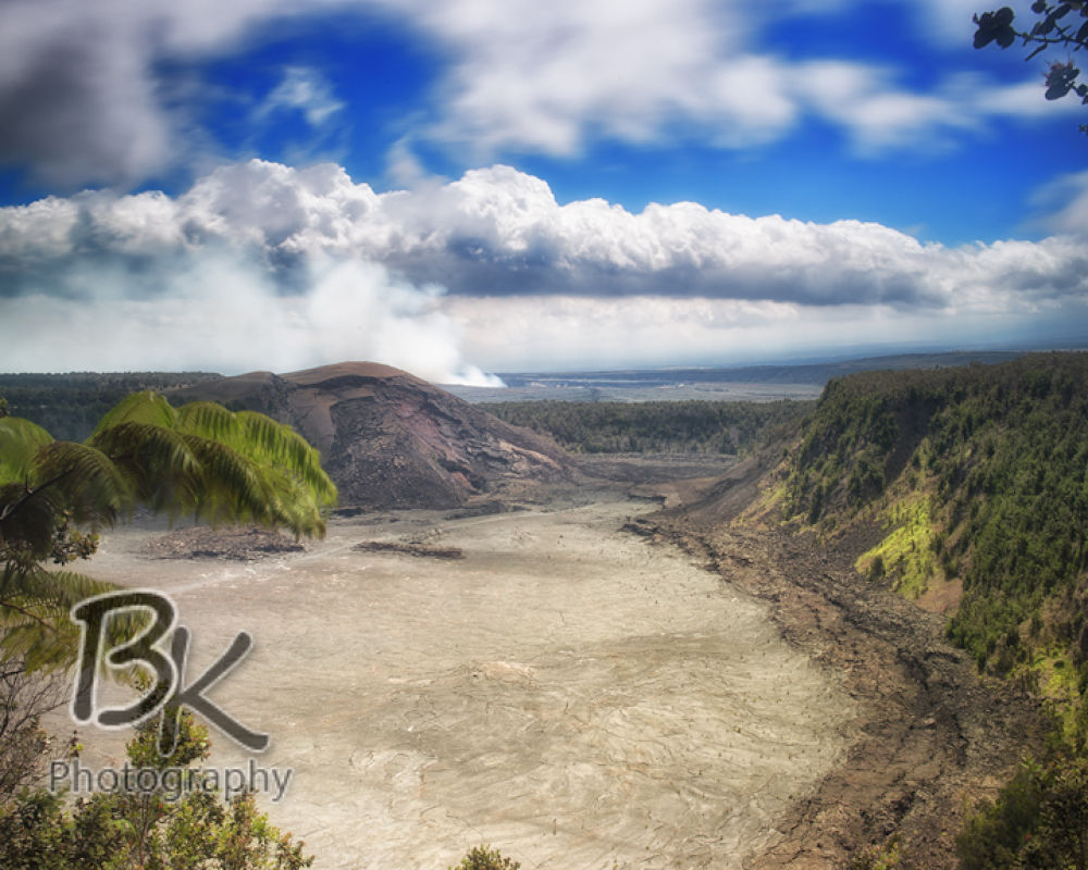 Hawaii Big Island Volcanic Crater by Bill Klingbeil