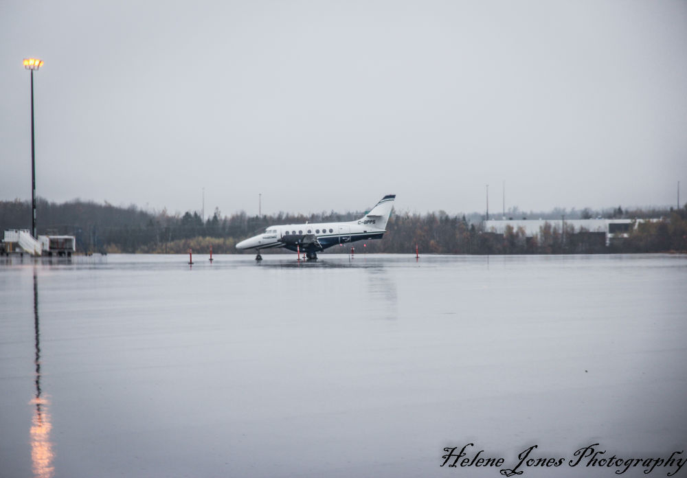 moncton airport by Helen Jones
