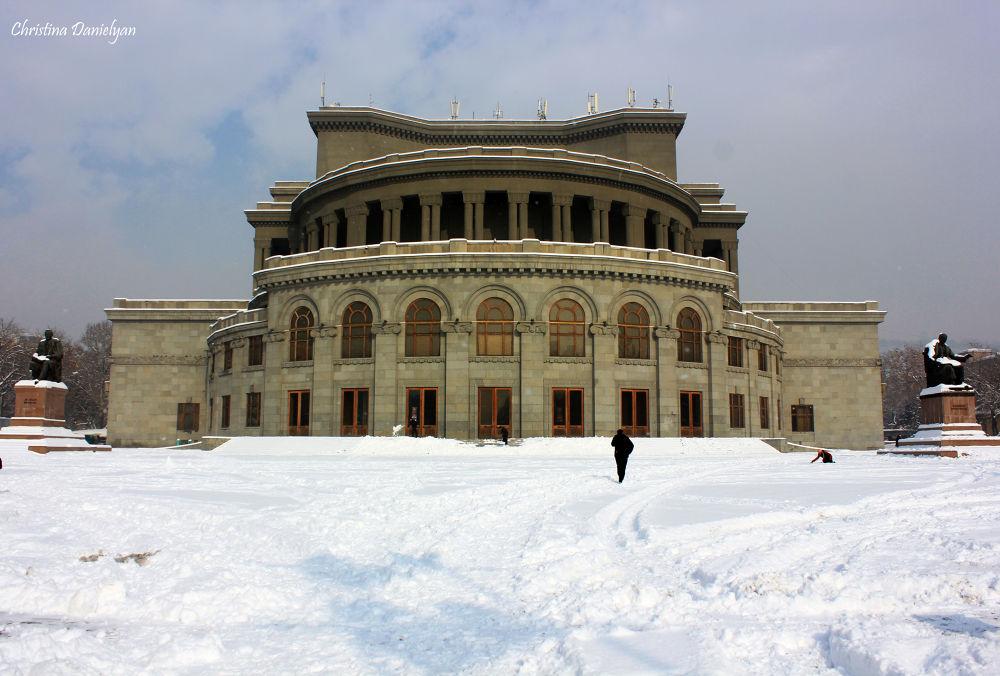 Opera house by Christina Danielyan