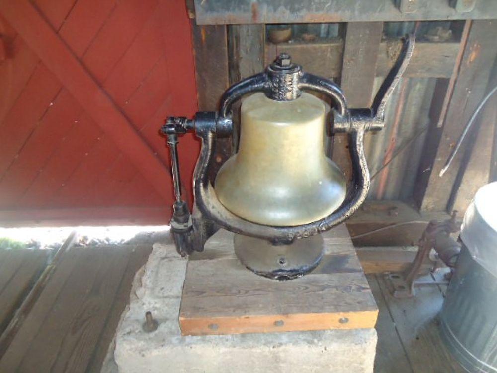 Railtown Bell by Michelle Kidwellwritingforhisglory