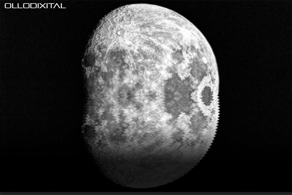 Moon by OlloDixital