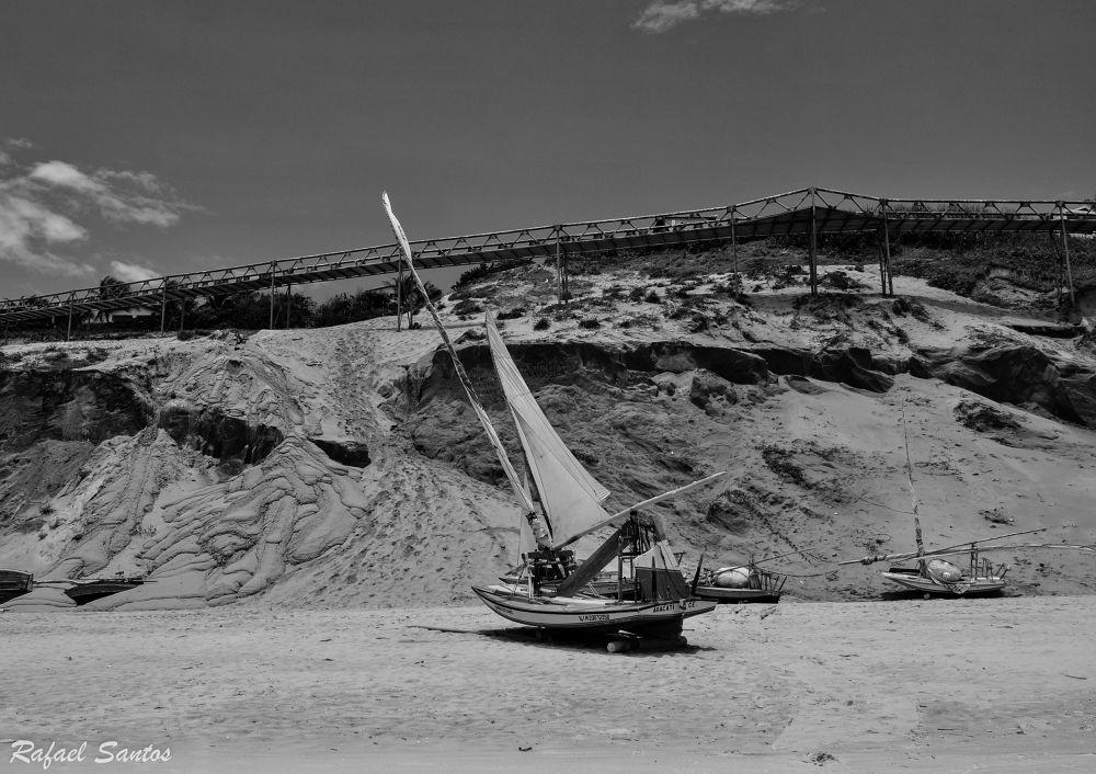 Praia Canoa quebrada by Marcos Rafael Xis.
