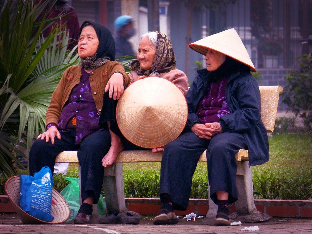 Hanoi . Three hats by marcosarli