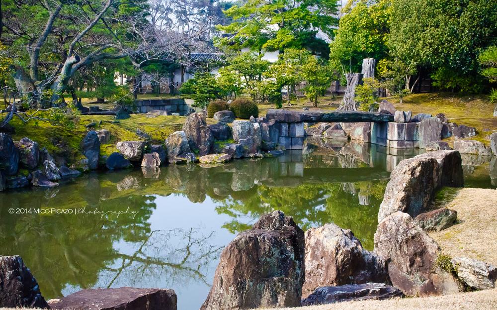 Nijo Castle's Japanese Garden by Mico Picazo