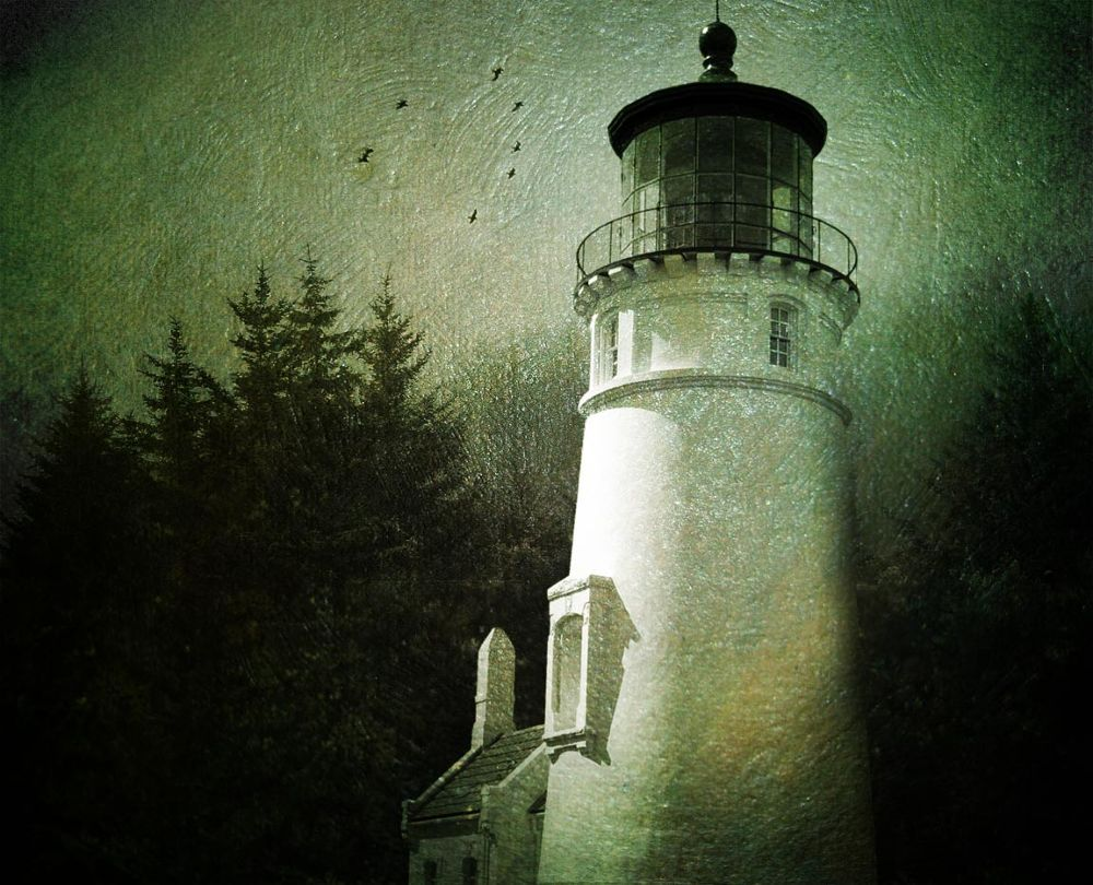 haunted lighthouse by Leah P
