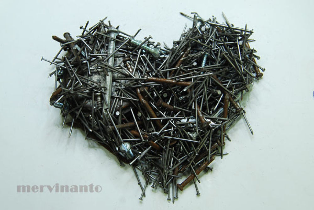 metal heart by mervinantov