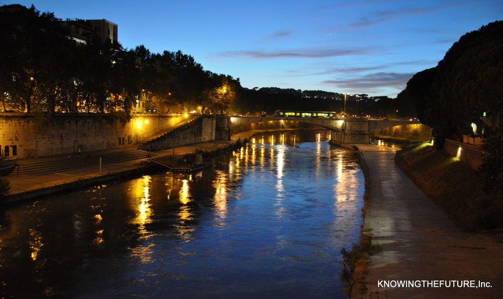The River Tiber by knowingthefuture
