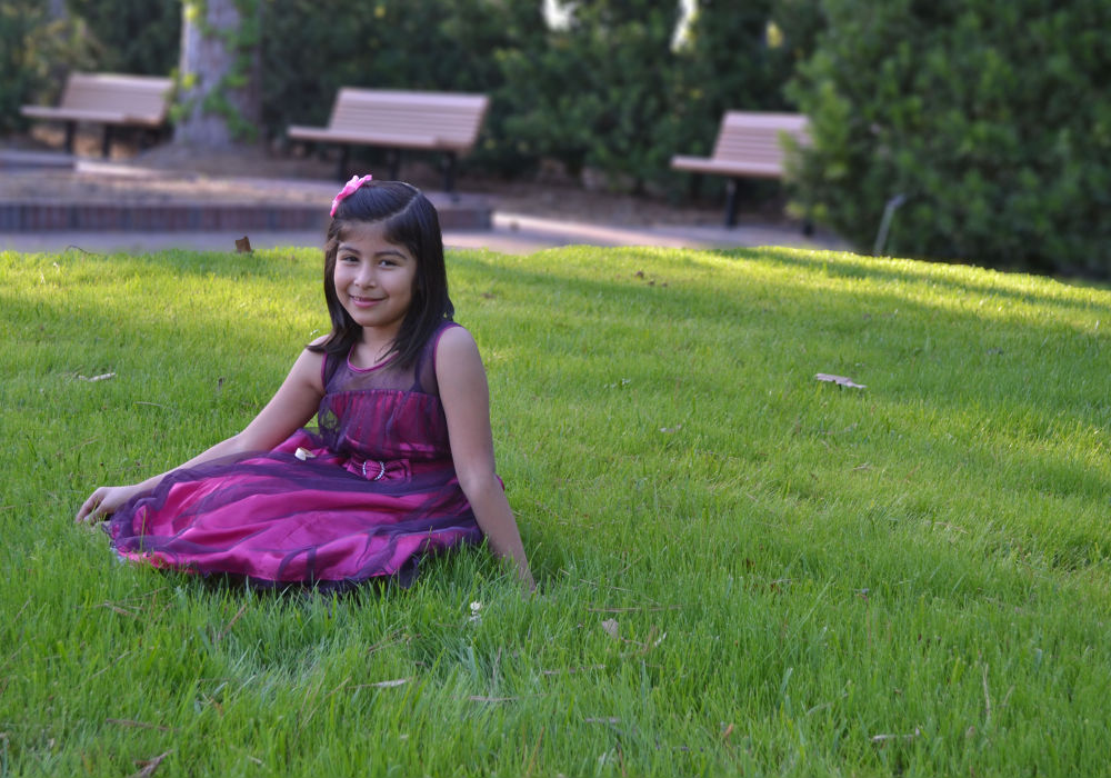 Name: Mia Age:7 year old. by Abel Antonio