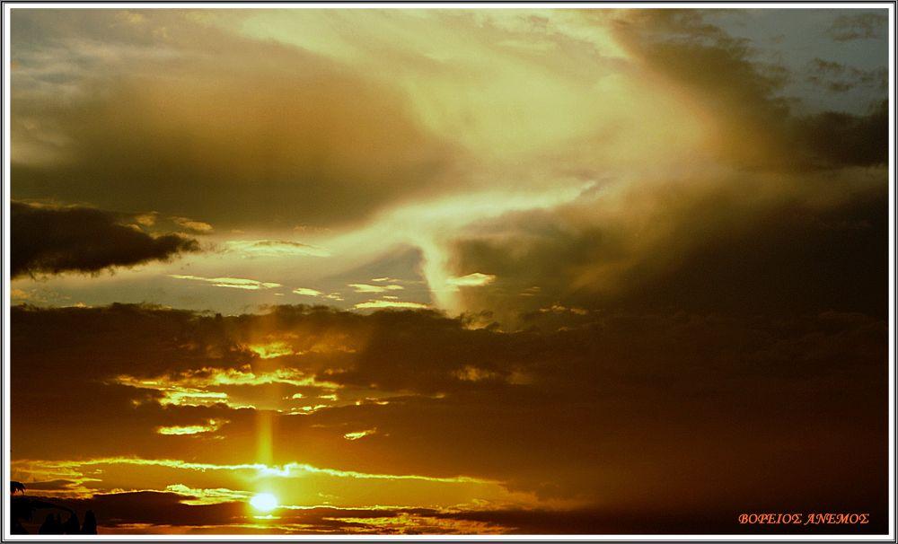 Sundown...   Thessaloniki Creece. by Αντώνης Κοροτσάκης
