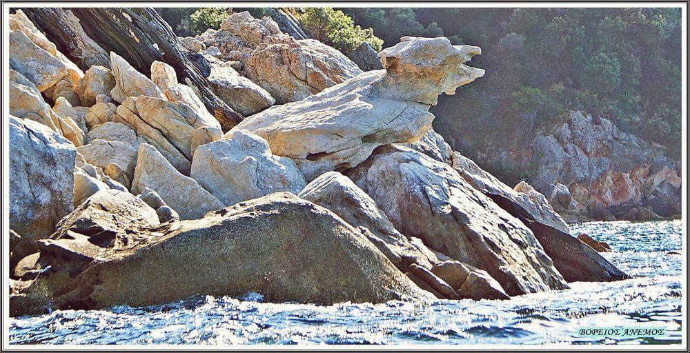 Jackals stone.... Chalkidiki Creece by Αντώνης Κοροτσάκης