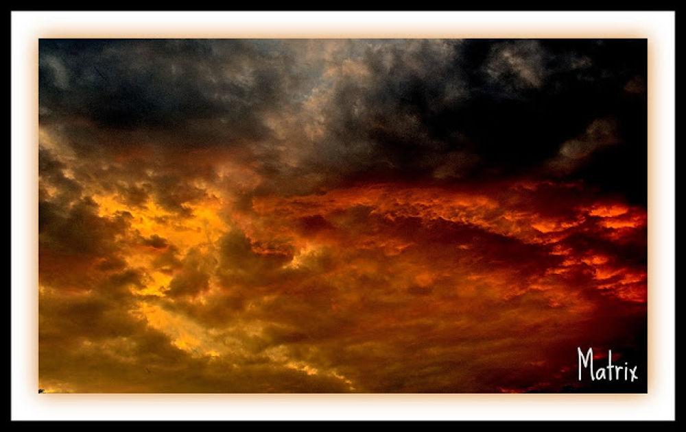 Ηeaven in flames. by Αντώνης Κοροτσάκης