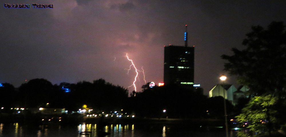 Stormy Weather in Belgrade - Olujno vreme u Beogradu by Stolen Moments