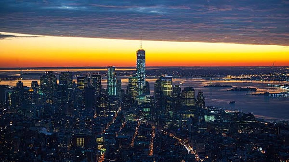 New York in December by Carolina Makkula